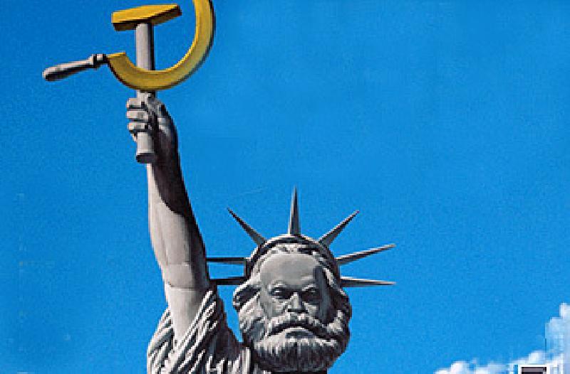 statua della libertà comunista