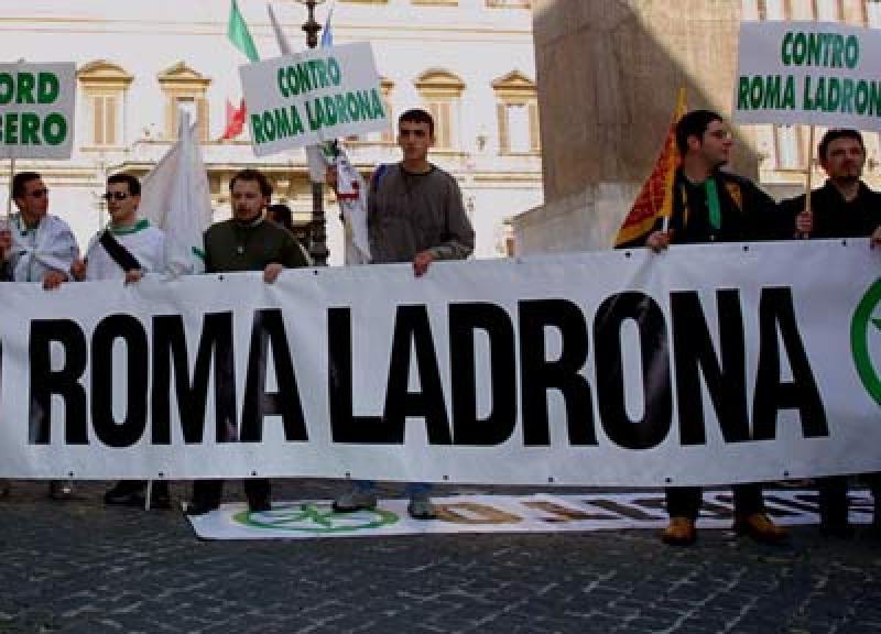 Lega roma ladrona dipende lospiffero com for Secondi romani